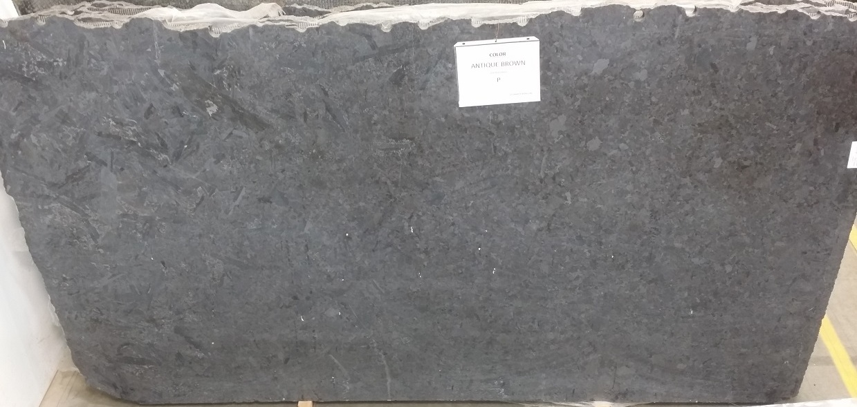 Antique Brown Leather Finish Granite Slab 30Mm