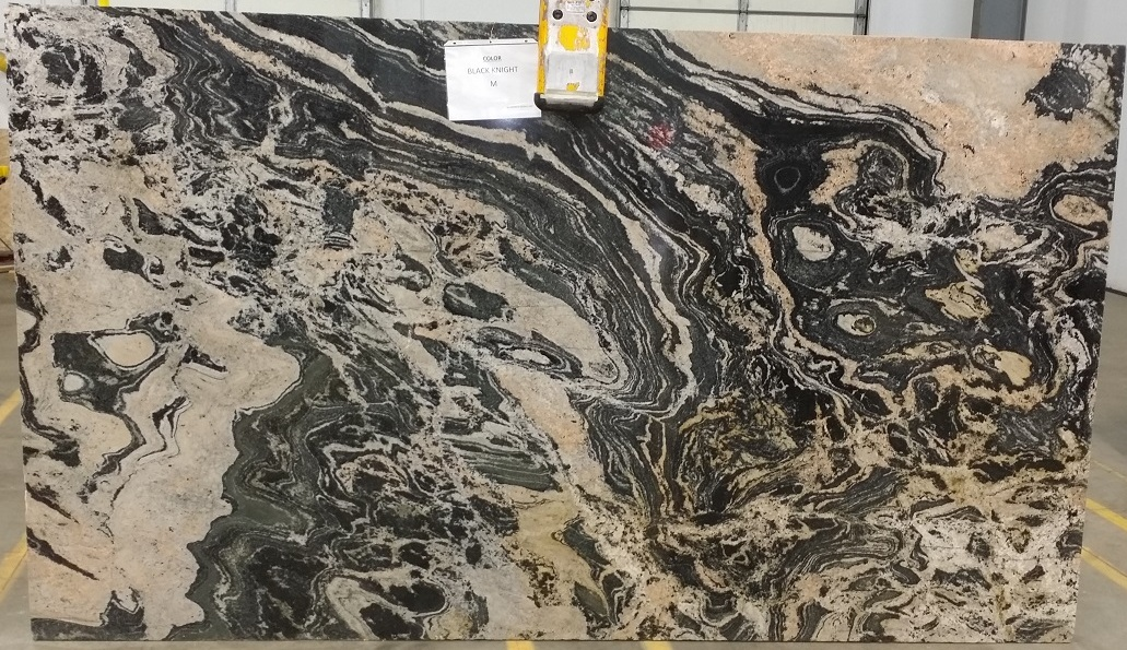 Black Knight Granite Slab 30Mm