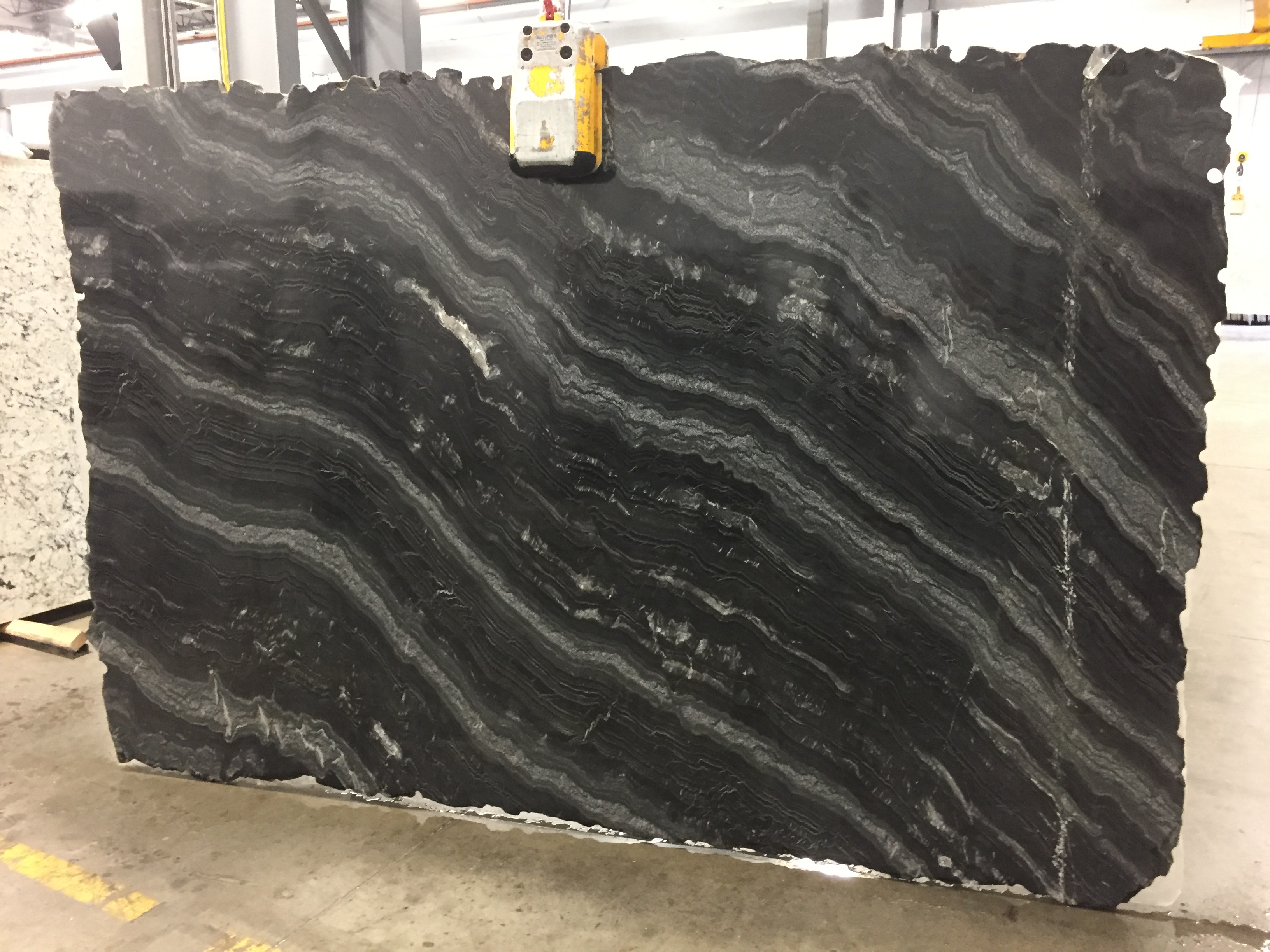 Black Mirror Quartzite Slab 30Mm