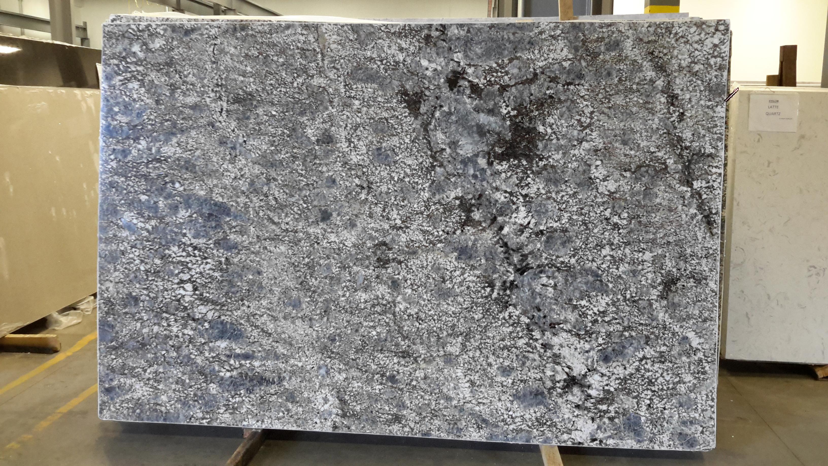 Blue Flower Granite Slab 30Mm