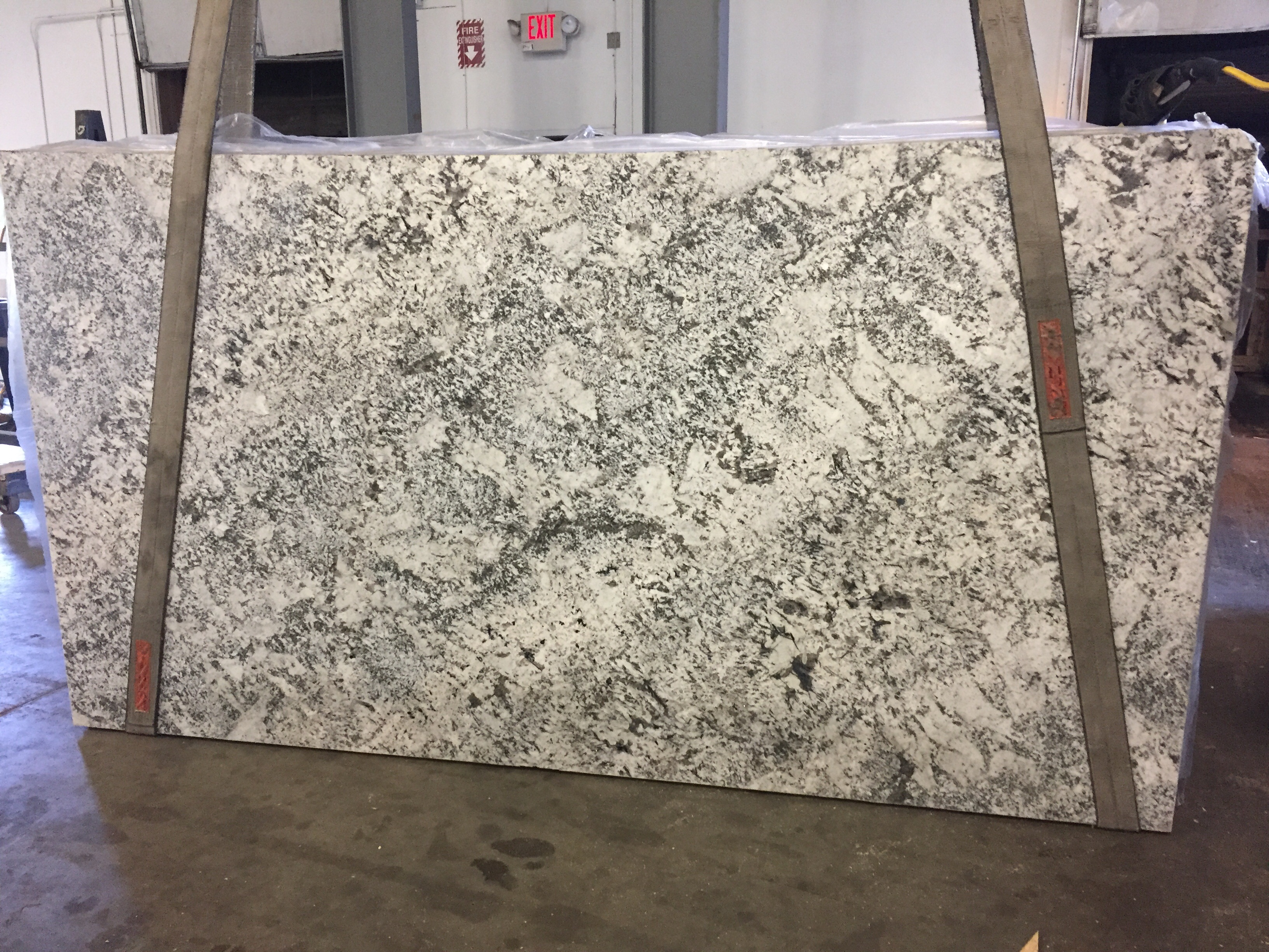 Aspen White Granite Slab 30Mm