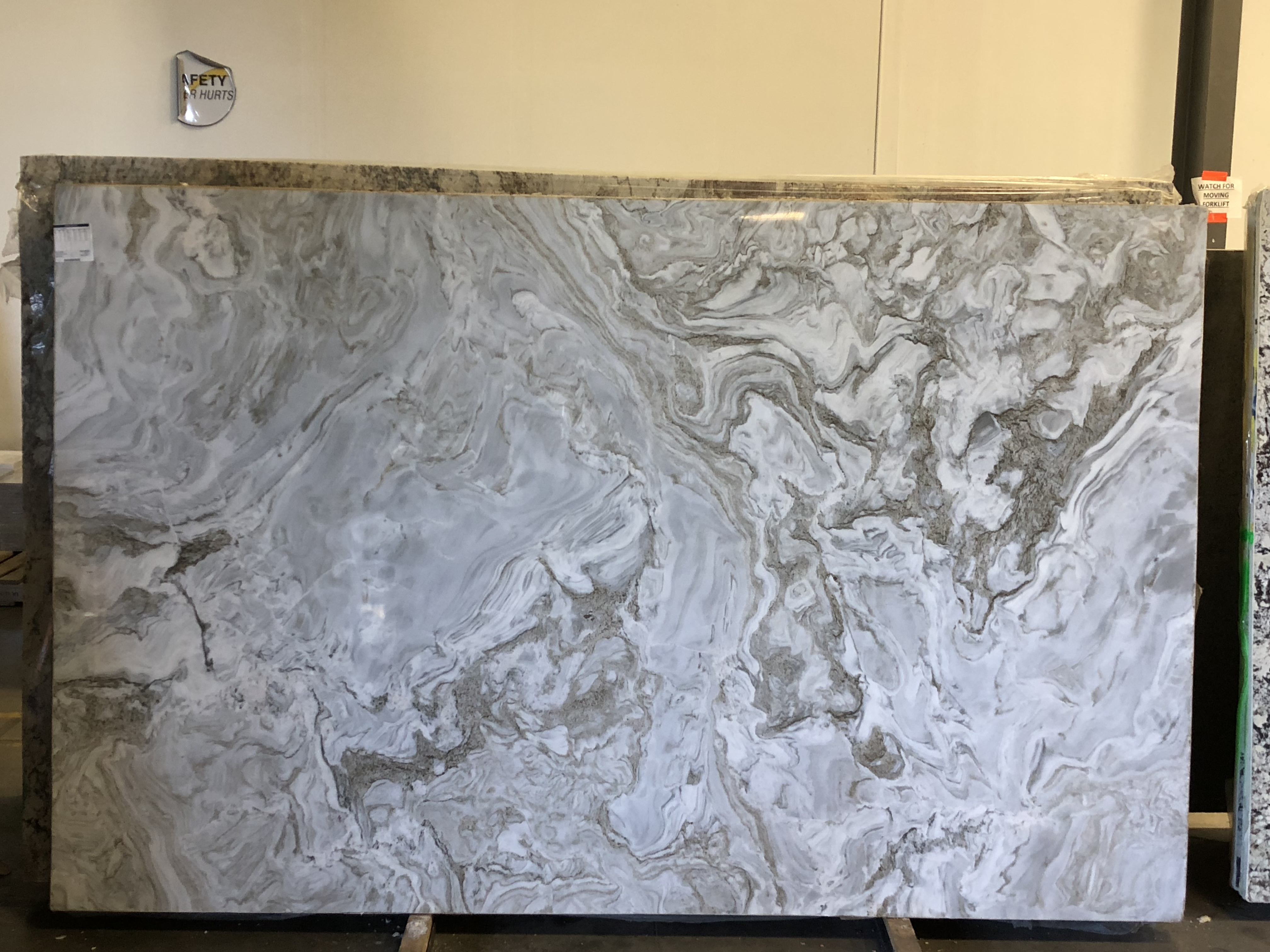 Avalanche Marble Slab 30 Mm