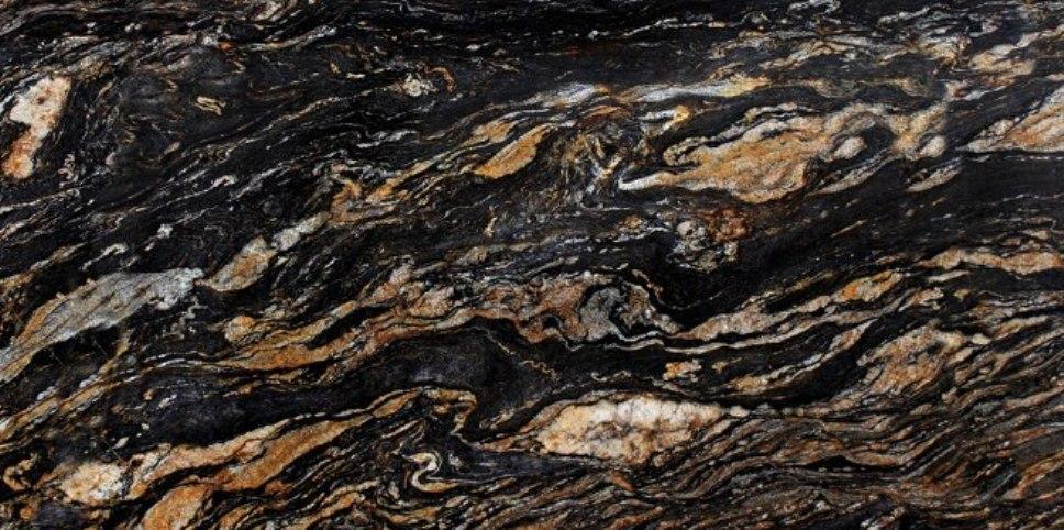 MAGMA BLACK GRANITE SLAB 30MM