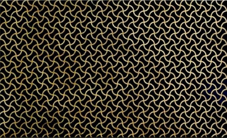 ABSOLUTE BLACK GRANITE SLAB WAVE GOLD DESIGN 20MM